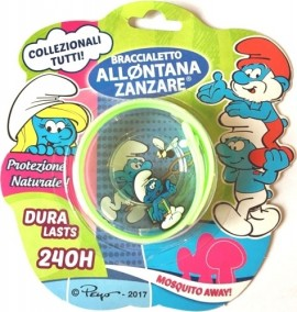 Brand Italia Αντικουνουπικό Παιδικό Βραχιόλι The Smurfs Light Green 1τμχ