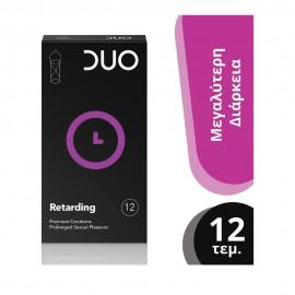 DUO Προφυλακτικά Premium Longer Pleasure, 12τμχ