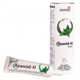 Honora Anaroid-H, Κρέμα Προστασίας, Πρόληψης, Ανακούφισης και Φροντίδας των Αιμορροϊδων, 30ml