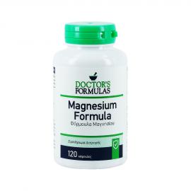 Doctors Formulas Magnesium 500mg, Συμπλήρωμα Διατροφής, Φόρμουλα με Μαγνήσιο, 120 δισκία