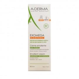 A-Derma Exomega Control Emollient Cream Μαλακτική Κρέμα Για Δέρμα Πολύ Ξηρό ή με Τάση Ατοπίας, 200ml