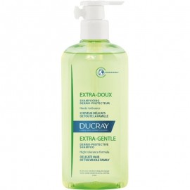 Ducray Δερμοπροστατευτικό Σαμπουάν για Κανονικά & Εύθραυστα Μαλλιά για Όλη την Οικογένεια, Extra Gentle Dermo-Protective Shampoo, 400ml