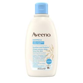 Aveeno Dermexa Daily Emollient Body Wash, Ενυδατικό Υγρό Καθαρισμού Σώματος, 300ml
