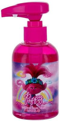 Corsair Toiletries Trolls Poppy Talking Handwash Παιδικό υγρό σαπούνι χεριών με Μελωδία, 250ml