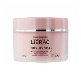 LIERAC Body Hydra+ Creme Nutri Repulante, Θρεπτική Κρέμα Επαναπύκνωσης Σώματος, 200ml