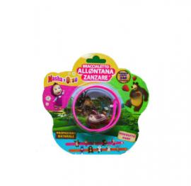 Brand Italia Citronella Mosquito Away Kids Masha Bear Pink 1τμχ