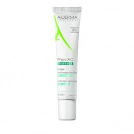 A-Derma Phys-AC Perfect Anti-Blemish Fluid Λεπτόρρευστη Κρέμα κατά των Ατελειών & των Σημαδιών, 40ml