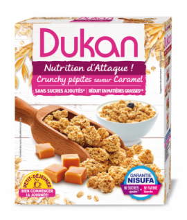 Dukan Expert, Δημητριακά Dukan Βρώμης με γεύση Καραμέλα, 350gr
