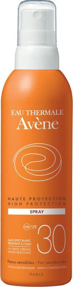 Avene Solaire Αντηλιακό Spray SPF30, High Protection, Προσώπου & Σώματος, 200ml