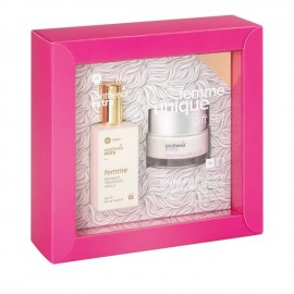 Panthenol Extra Promo Femme Eau De Toilette Bergamot,Cedarwood,Vanilla 50ml & Day Cream SPF15 50ml