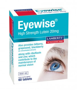 Lamberts Eyewise High Strength Lutein, Υγεία των Ματιών, 60tabs