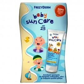 Frezyderm Baby Sun Care SPF25 Βρεφικό Αντηλιακό Γαλάκτωμα Προσώπου & Σώματος, 100ml & ΔΩΡΟ ΕΠΙΠΛΕΟΝ ΠΟΣΟΤΗΤΑ 50ml
