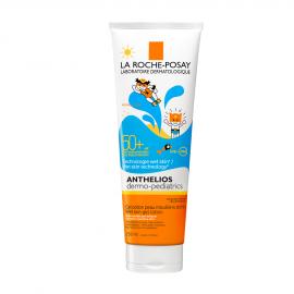 La Roche Posay Anthelios Dermo-Pediatrics Wet Skin Gel Lotion SPF50+ Παιδικό Αντηλιακό για Πρόσωπο/Σώμα 250ml