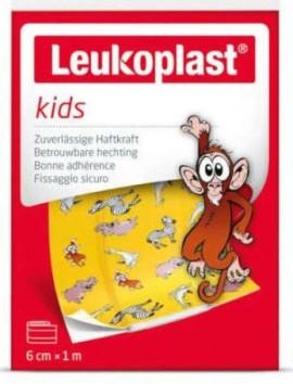 Leukoplast Red Kids Zoo (6cm X 1m)