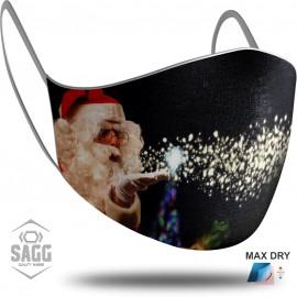 Παιδική Μάσκα Προστασίας Santa Claus 5, SAGG