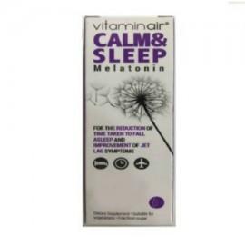 Medicair Vitaminair Calm & Sleep Συμπλήρωμα Διατροφής για την Μείωση του Χρόνου της Έλευσης του Ύπνου 30tabs