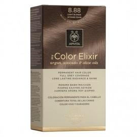 Apivita Βαφή Μαλλιών 8.88 My Color Elixir Κit Μόνιμη Ξανθό Πολύ Ανοιχτό Έντονο Περλέ