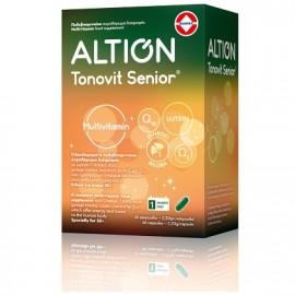 Altion Tonovit Senior Ενισχυμένη Πολυβιταμίνη για Σωματική & Πνευματική Τόνωση για Ηλικίες άνω των 50 Ετών, 40caps