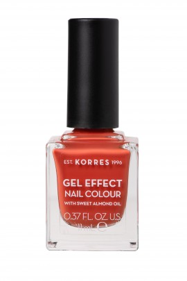 Korres Βερνίκι Νυχιών Gel Effect Nail Colour No50 Pumpkin Spice 11ml