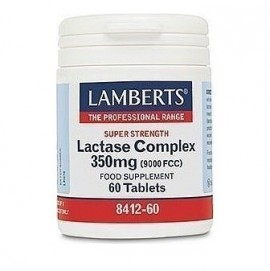 Lamberts Lactase Complex 350mg Συμπλήρωμα Φυσικής Λακτάσης, 60 tabs