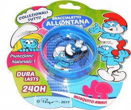 Brand Italia Αντικουνουπικό Παιδικό Βραχιόλι The Smurfs Blue 1τμχ