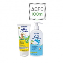 Frezyderm Promo Baby Cream 175ml & ΔΩΡΟ Baby Shampoo 100ml
