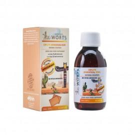 John Noa Worts Anasoliq Kids Σιρόπι Υγείας για Παιδιά για το Αναπνευστικό με Γεύση Μπισκότο - Λιποσωμιακή Φόρμουλα, 150ml