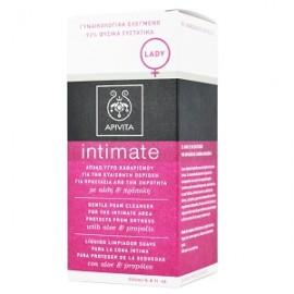 Apivita Intimate Lady Απαλό Υγρό Καθαρισμού για Την Ευαίσθητη Περιοχή με Αλόη & Πρόπολη για Προστασία από την Ξηρότητα, 200ml