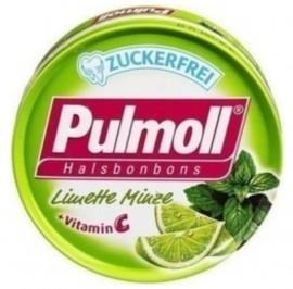 Pulmoll Καραμέλες Γλυκολέμονο - Μέντα & Βιταμίνη C για το Βήχα, τον Πονόλαιμο, την Τόνωση Ανοσοποιητικού , 45gr