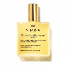 Nuxe Huile Prodigieuse Riche Πλούσιο Ξηρό Λάδι για Πρόσωπο-Σώμα-Μαλλιά, 100ml