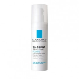 La Roche Posay Toleriane Sensitive Fluid Κρέμα Ενυδάτωσης Προσώπου για Ευαίσθητο Δέρμα, 40ml