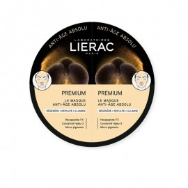 Lierac Premium The Mask Absolute Anti-Aging Μάσκα Προσώπου με Ολοκληρωμένη Αντιγηραντική Δράση, 2x6ml