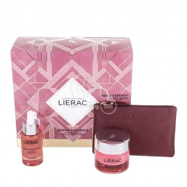 LIERAC Set Promo Supra Radiance Serum 30ml & Supra Radiance Anti-Ox Gel Cream 50ml Κανονικές-Μεικτές & Δερμάτινο Πορτοφόλι