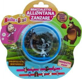 Brand Italia Citronella Mosquito Away Kids Masha Bear Blue 1τμχ