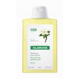 Klorane Shampooing A La Cire De Magnolia Σαμπουάν με Κερί Μανόλιας για Εκτυφλωτική Λάμψη 200ml