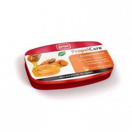 Lanes PropolCare Καραμέλες με Γεύση Μέλι & Λεμόνι για το Λαιμό 54gr