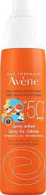 Avene Spray Enfant SPF50+ Παιδικό Αντιηλιακό Σπρέι Χωρίς Άρωμα, 200ml