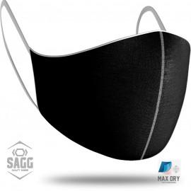 Unisex Μάσκα Προστασίας Black, SAGG