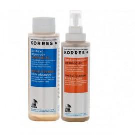 Korres Set Αντιφθειρική Λοσιόν Με Μηλόξιδο 150ml + Δώρο Σαμπουάν Με Μηλόξιδο 150ml
