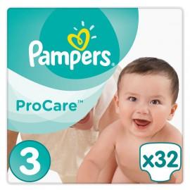 Pampers Procare Premium Protection No.3 (5-9kg) 32 Πάνες