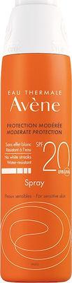 Avene Spray SPF20 Αντηλιακό Σπρέι για Πρόσωπο & Σώμα, 200ml