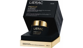 LIERAC Premium Soyeuse Μεταξένια Κρέμα για Απόλυτη Αντιγήρανση 50ml