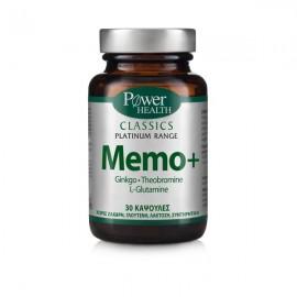 Power Health Classics Platinum Range Memo+, Συμπλήρωμα για την Βελτίωση της Μνήμης, 30 Κάψουλες