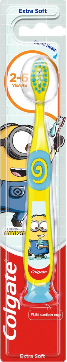Colgate Παιδική Extra Soft Οδοντόβουρτσα 2-6 Ετών Minions 1τμχ