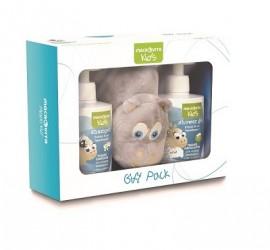 Macrovita Kids Πακέτο Προσφοράς Παιδικό Aφρόλουτρο Shoer Gel 300ml & Παιδικό Σαμπουάν Shampoo 300ml & Δώρο Hippo Λούτρινο