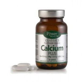 Power Health Calcium Plus 30 κάψουλες