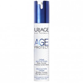 Uriage Age Protect Multi-Action Cream, Αντιρυτιδική Κρέμα Πολλαπλών Δράσεων για Κανονικές/Ξηρές Επιδερμίδες 40ml
