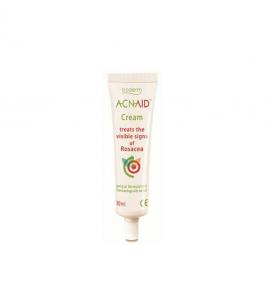 Boderm Acnaid Cream Κρέμα Αντιμετώπισης Της Ροδόχρου Ακμής 30ml