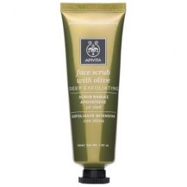 Apivita Face Scrub with Olive, Scrub Βαθιάς Απολέπισης με Ελιά 50ml