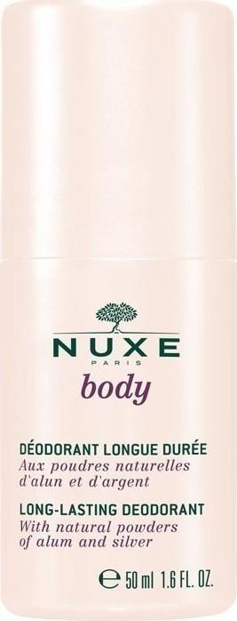 Nuxe Deodorant Long-Lasting, Αποσμητικό Roll-On, Χωρίς Οινόπνευμα 50ml